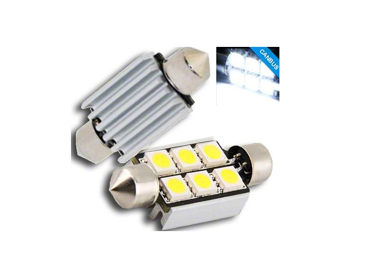Led Auto Lights >> Led Car Number Plate Bulbs Bmw E90 E60 Pair Of 6 Smd Led