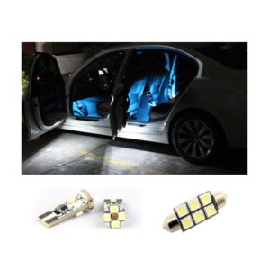 2 x 501 W5W LED T10 Bulb SMD Car Side Interior Lights Error Free Lamp Canbus